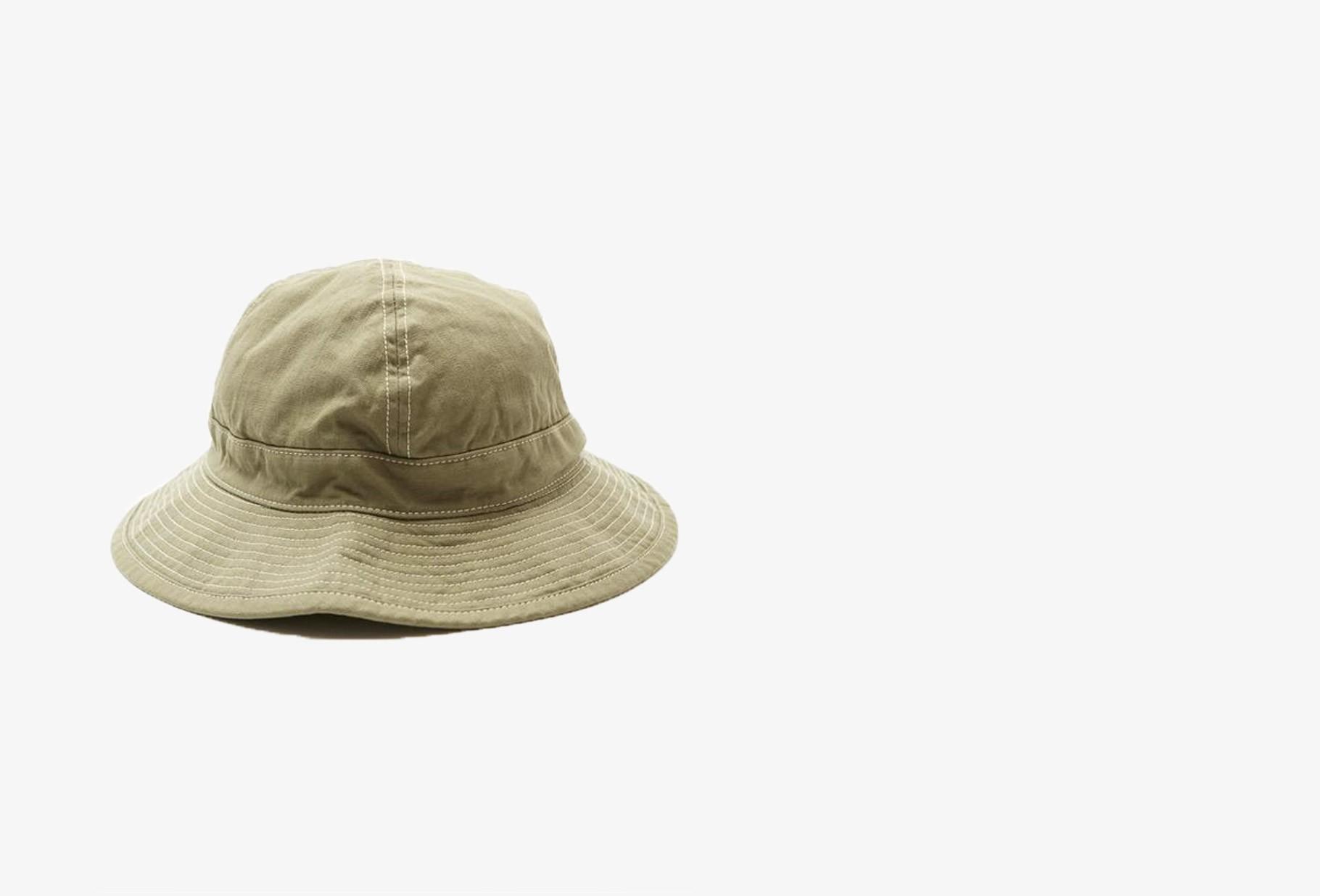 ORSLOW / Us navy hat herringbone Green