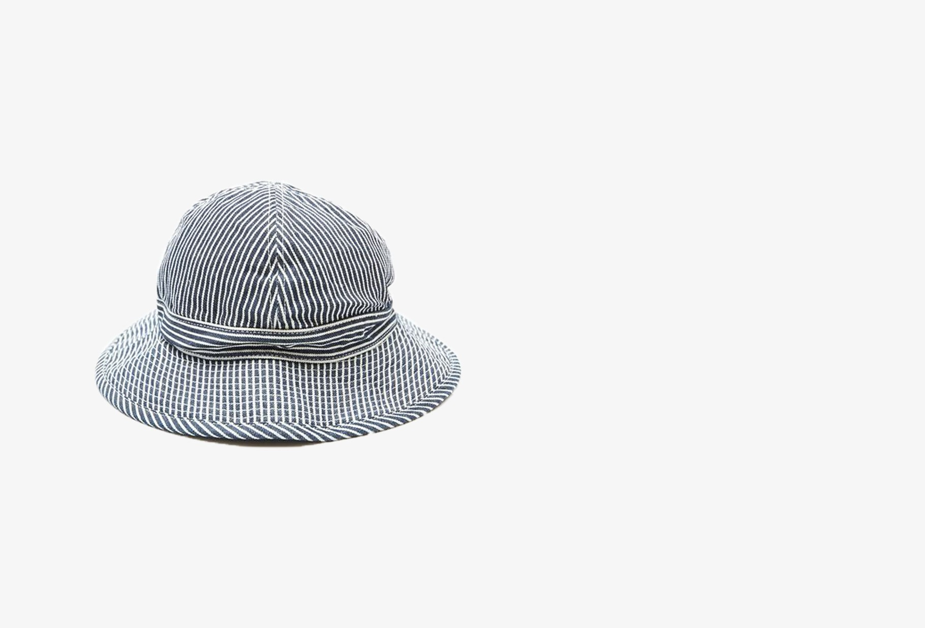 ORSLOW / Us navy hat hickory Hickory