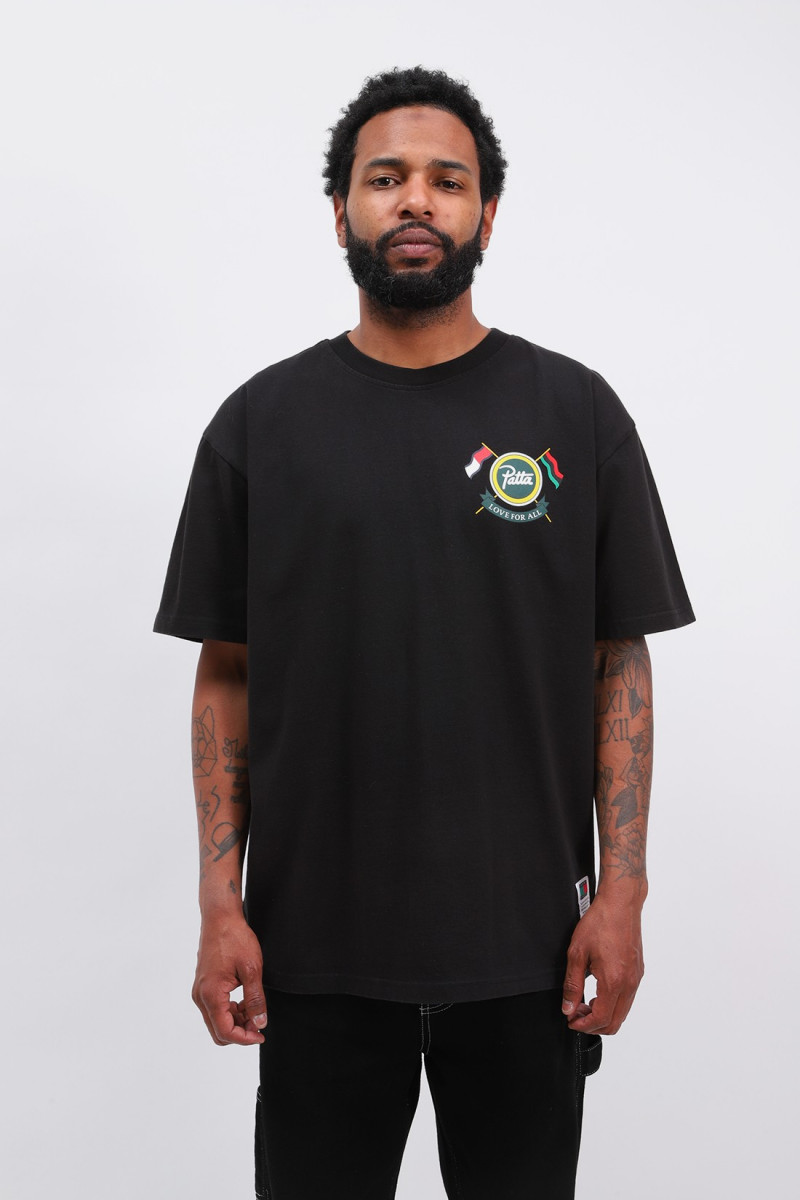Abo tjm x patta community tee Black