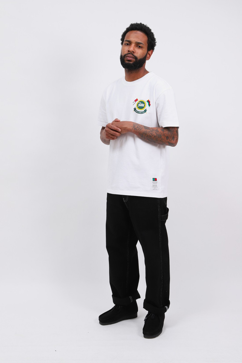 Abo tjm x patta shield tee 07 White