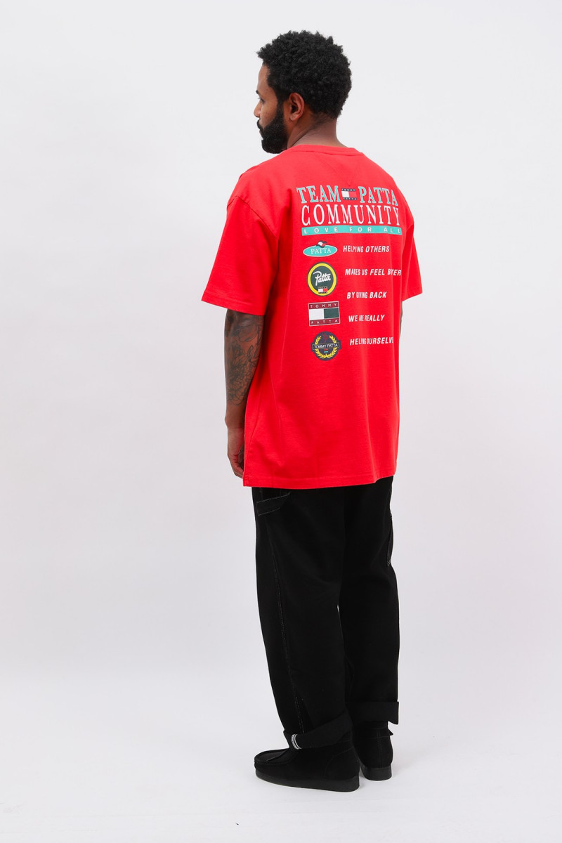 Abo tjm x patta community tee Red