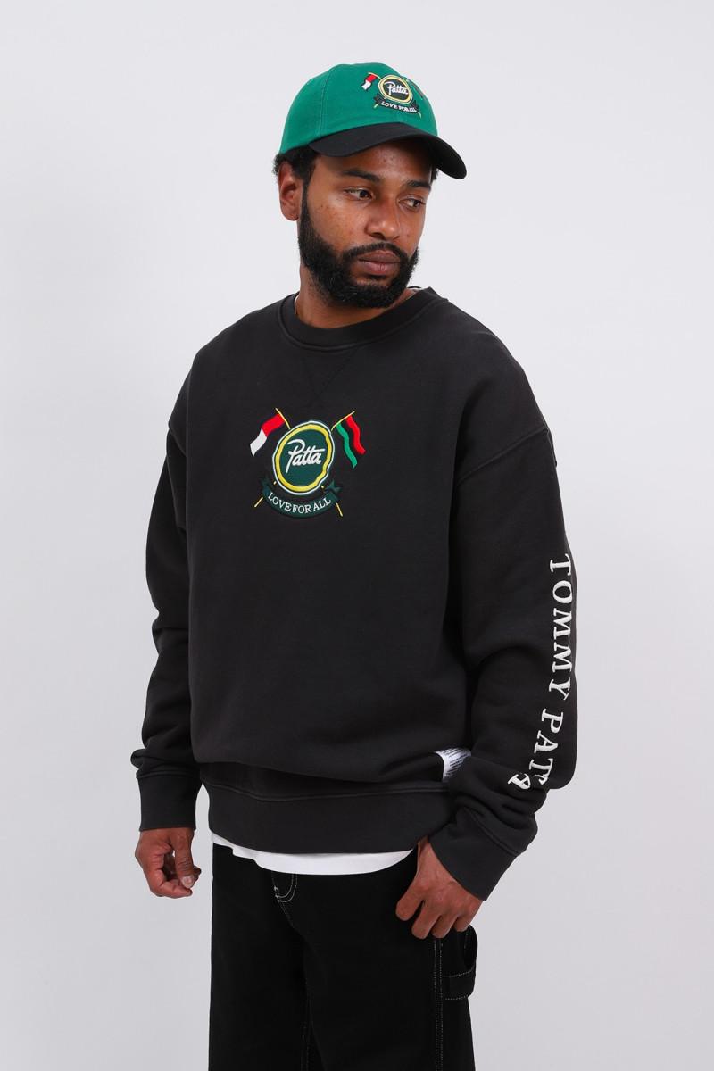 Abo tjm x patta sweatshirt Black
