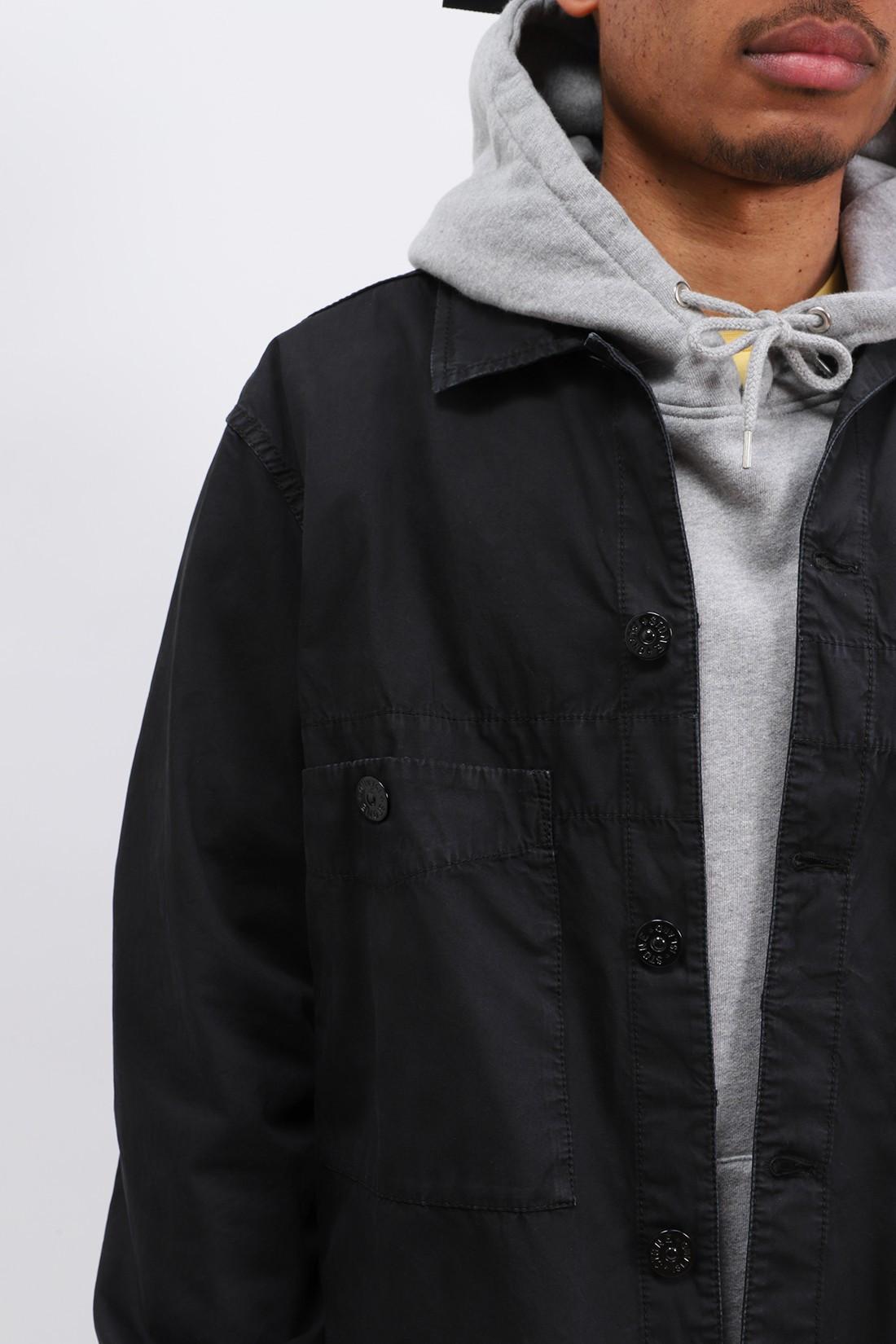 STONE ISLAND / 110wn overshirt v0129 nero Nero