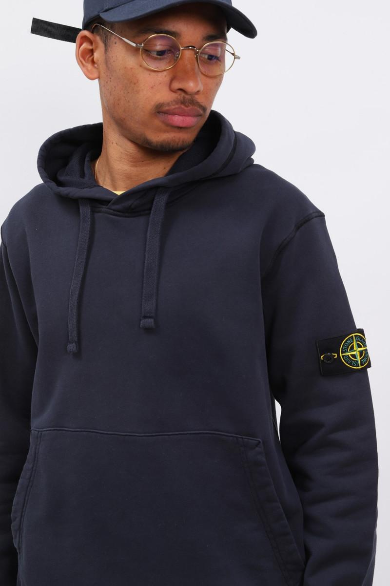 64151 hooded sweater v0020 Blu