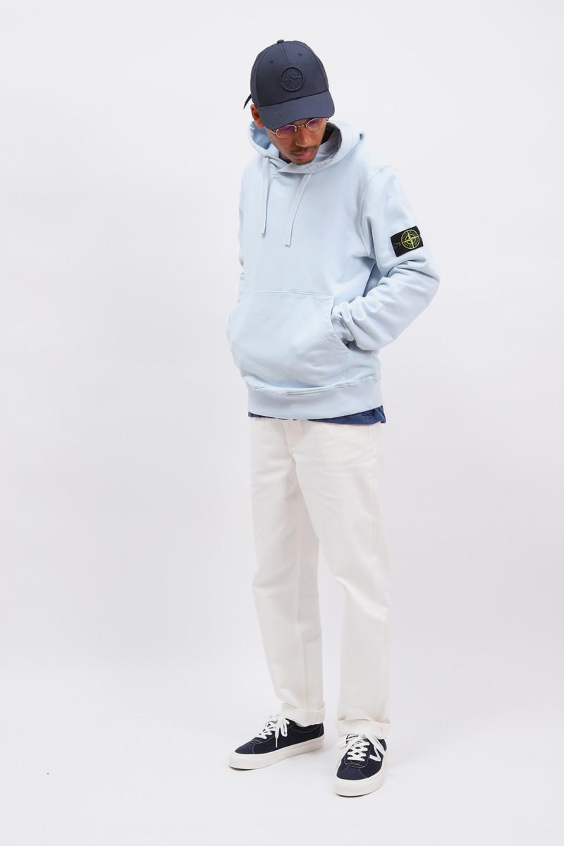 64151 hooded sweater v0041 Cielo