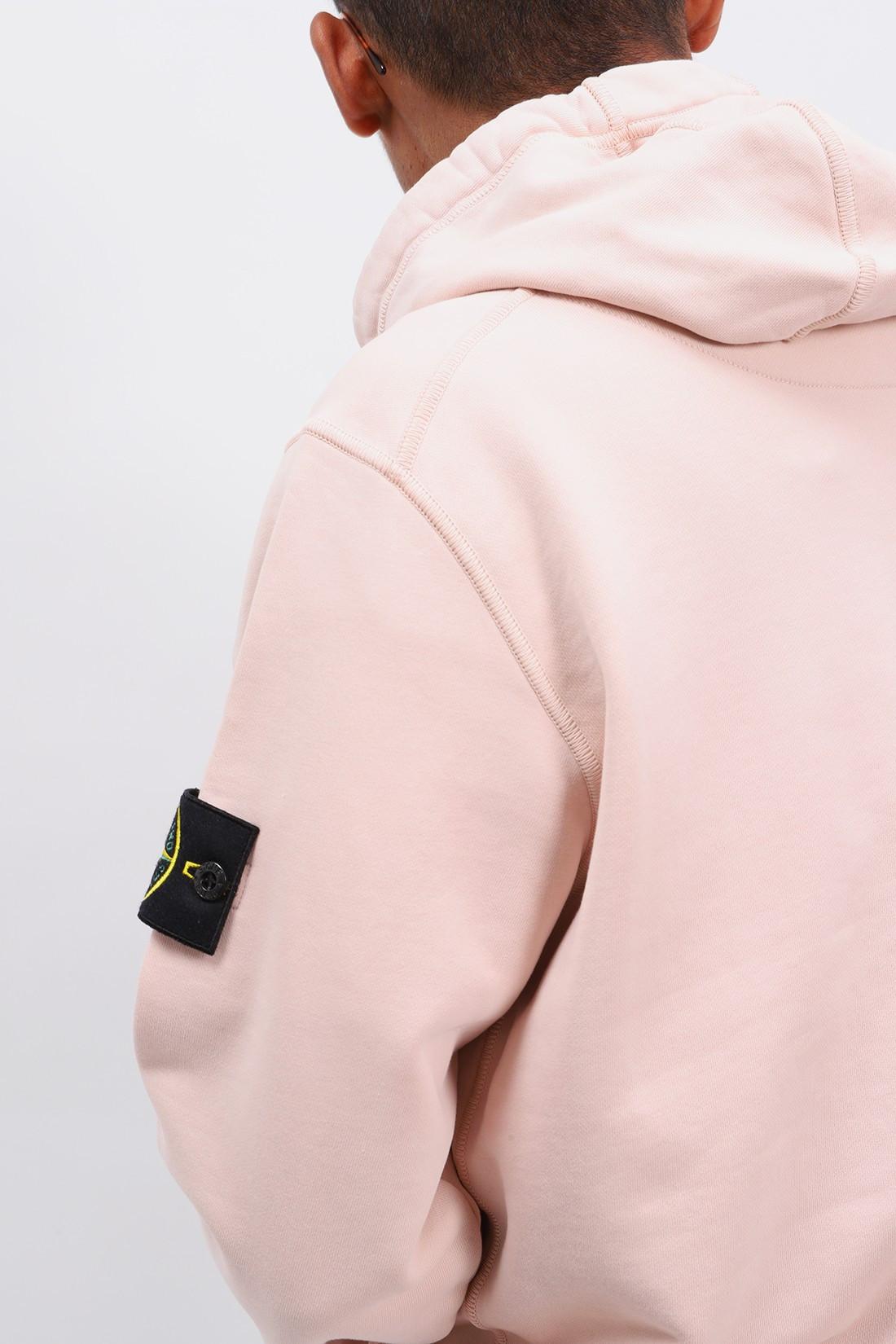 STONE ISLAND / 64151 hooded sweater v0082 Rosa antico