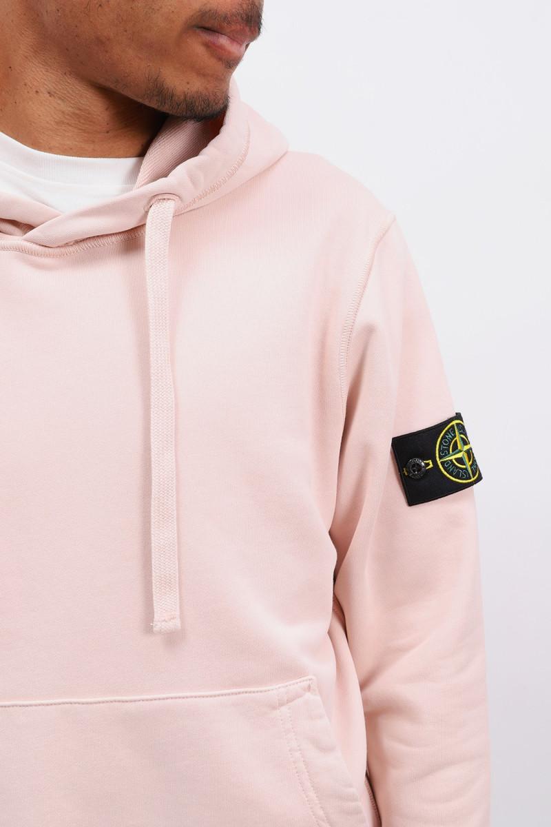 64151 hooded sweater v0082 Rosa antico