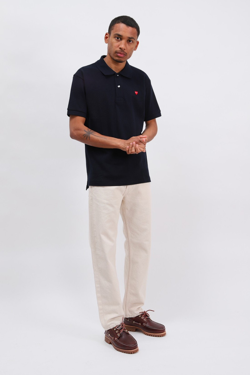 Play little red heart polo Navy