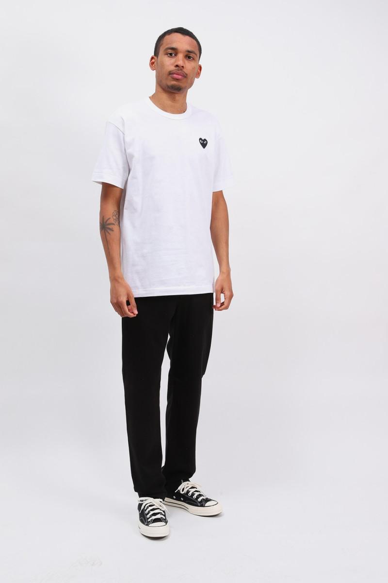 Black play t-shirt White