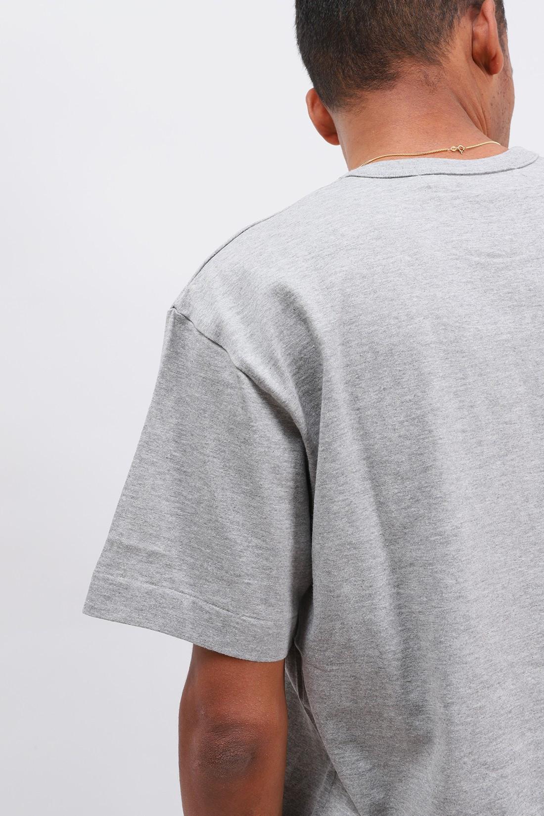 COMME DES GARÇONS PLAY / Play gold heart t-shirt Grey