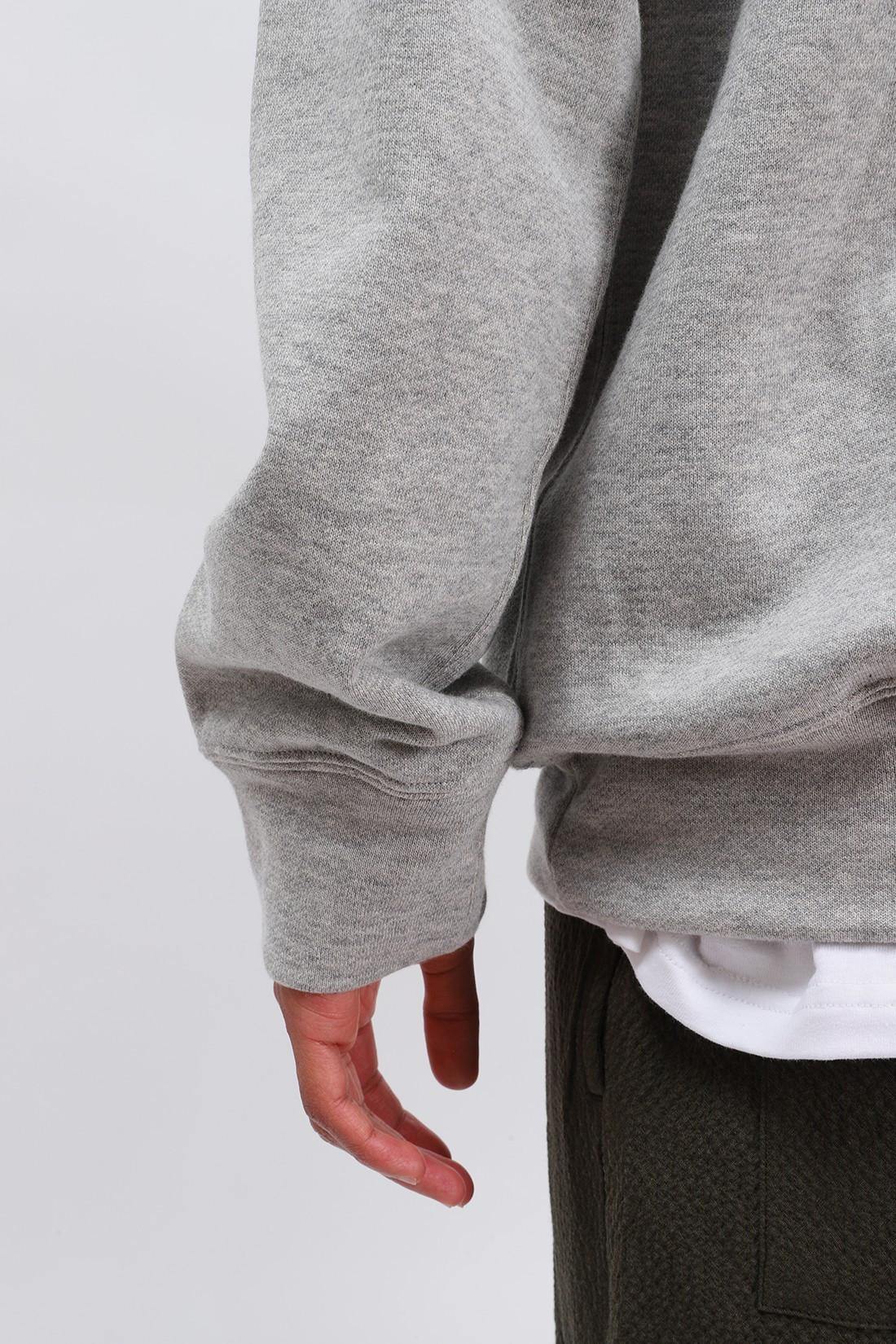 COMME DES GARÇONS PLAY / Play hooded sweatshirt Grey