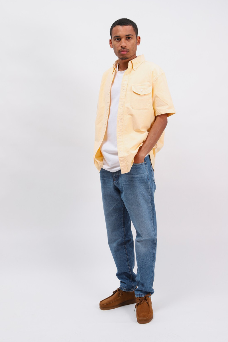 Short sleeve b.d oxford Yellow
