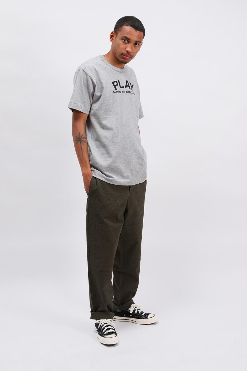 Play logo t-shirt Grey
