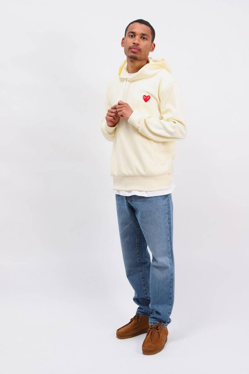 Play hooded sweatshirt Ivory