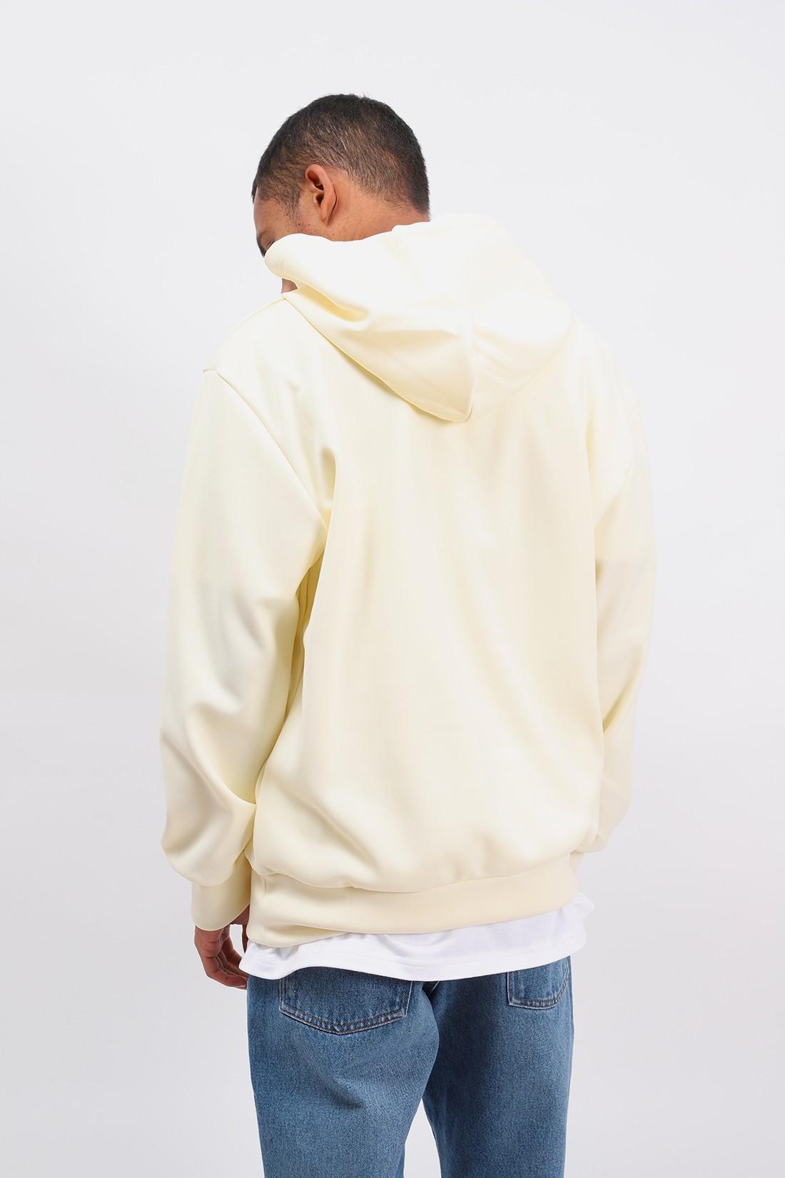 COMME DES GARÇONS PLAY / Play hooded sweatshirt Ivory