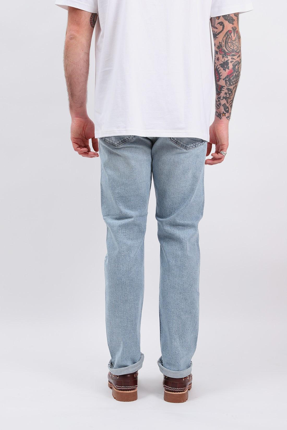 ORSLOW / 107 slim fit selvedge denim Sky blue