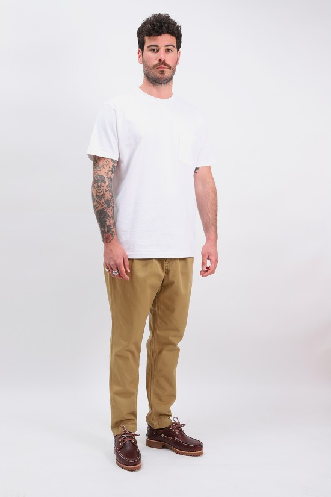 ORSLOW / Pleated billy jean trousers Khaki