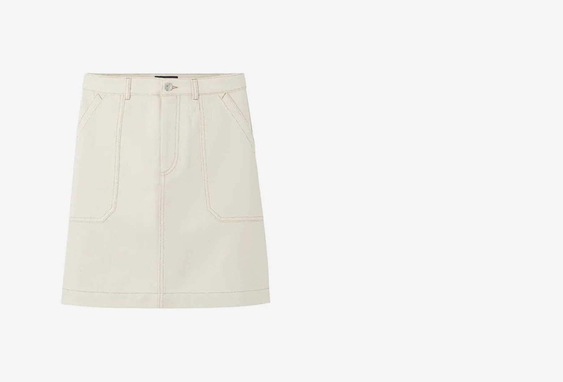 A.P.C. FOR WOMAN / Jupe lea Blanc