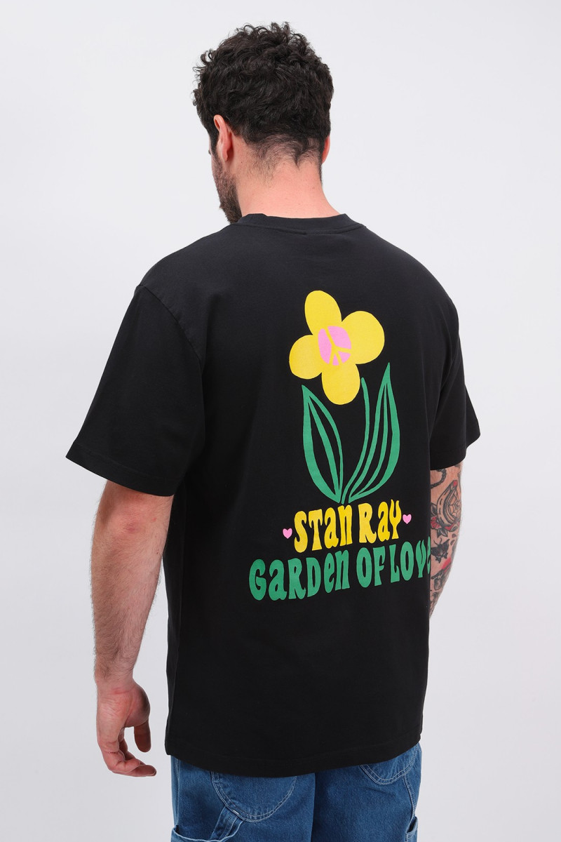 Garden ss tee Black