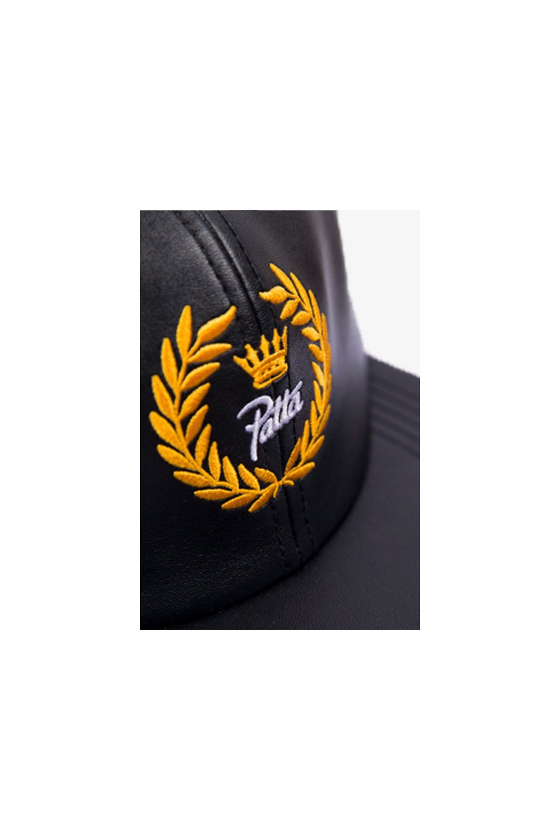 PATTA / Patta vegan leather snapback Black