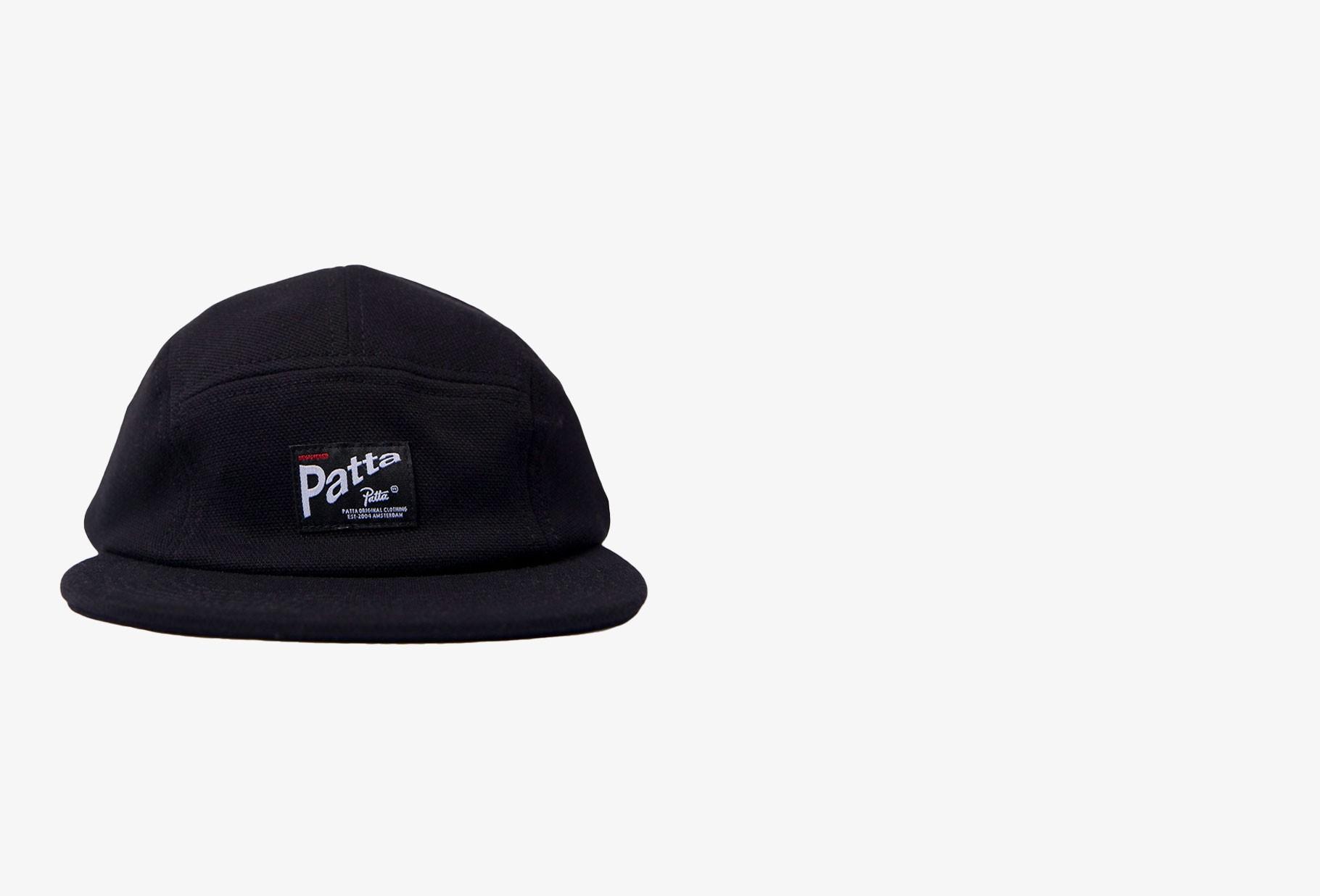 PATTA / Patta pique camp hat Black