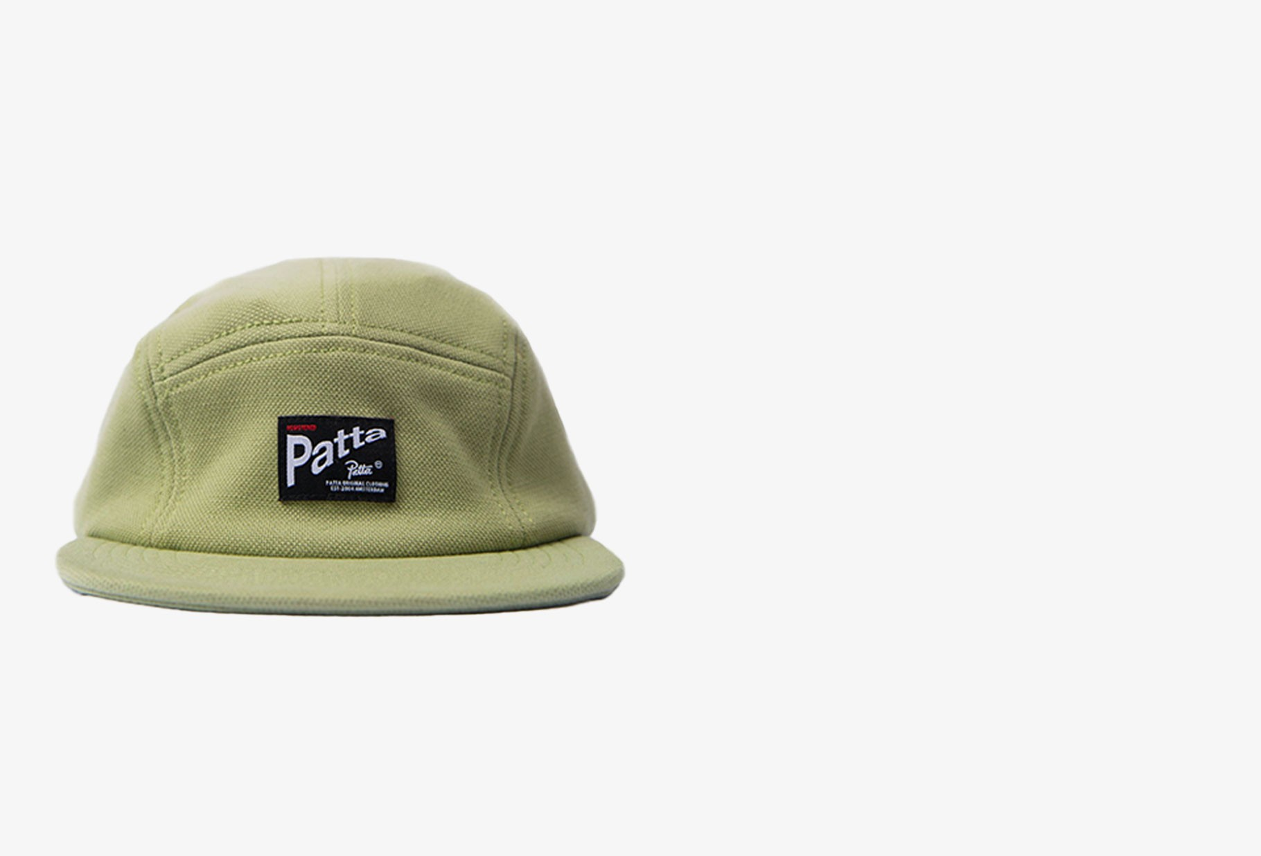 PATTA / Patta pique camp hat Calliste green