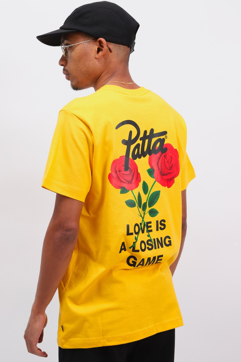 Patta love ss t Old gold