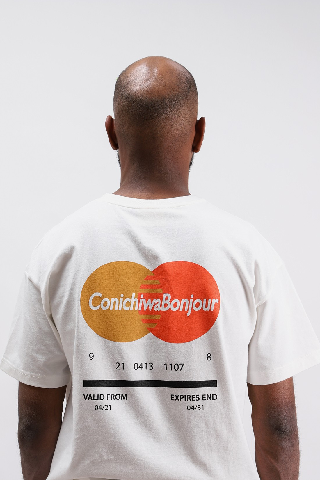 CONICHIWA BONJOUR / Payment t White