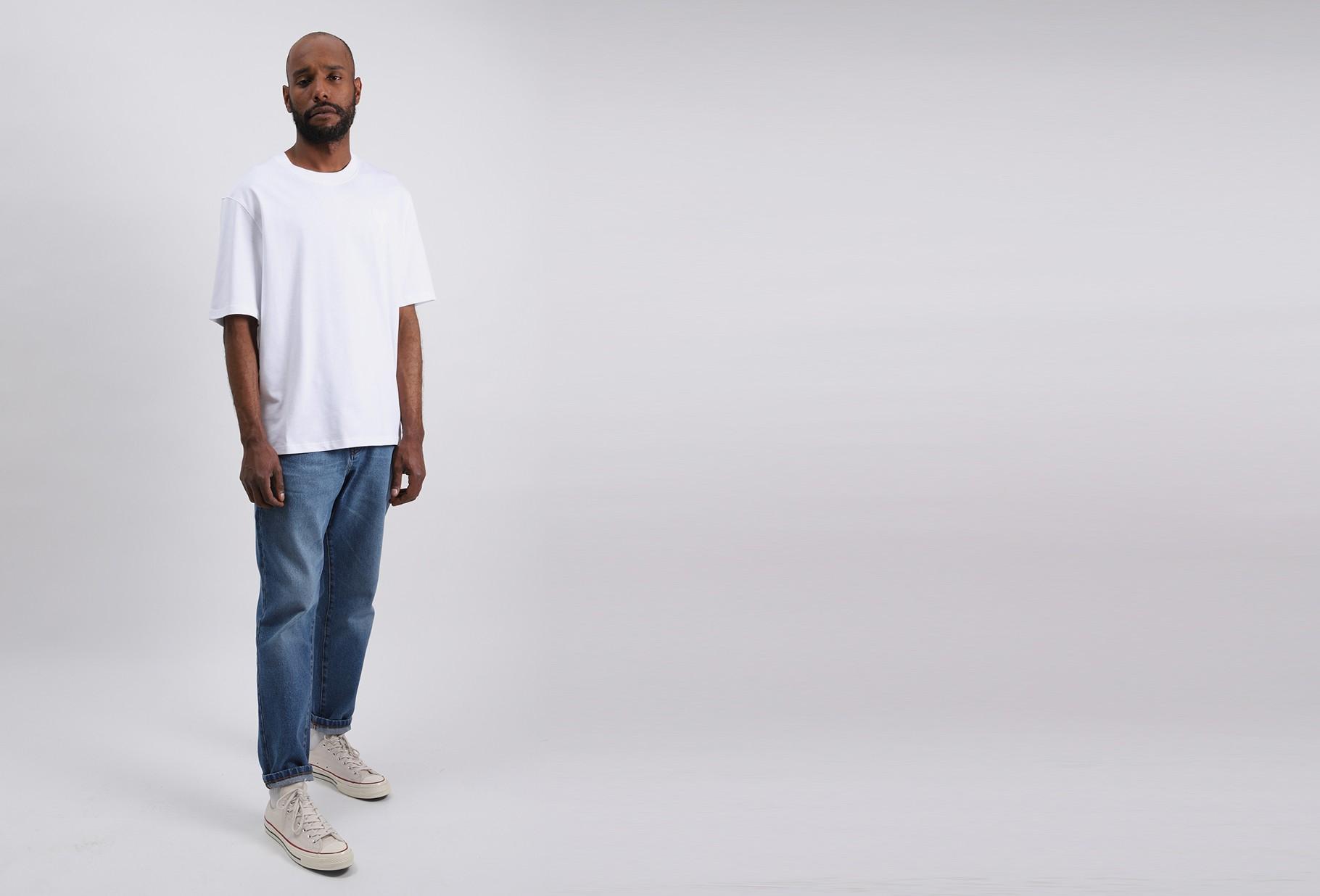 AMI / T-shirt ami de coeur Blanc