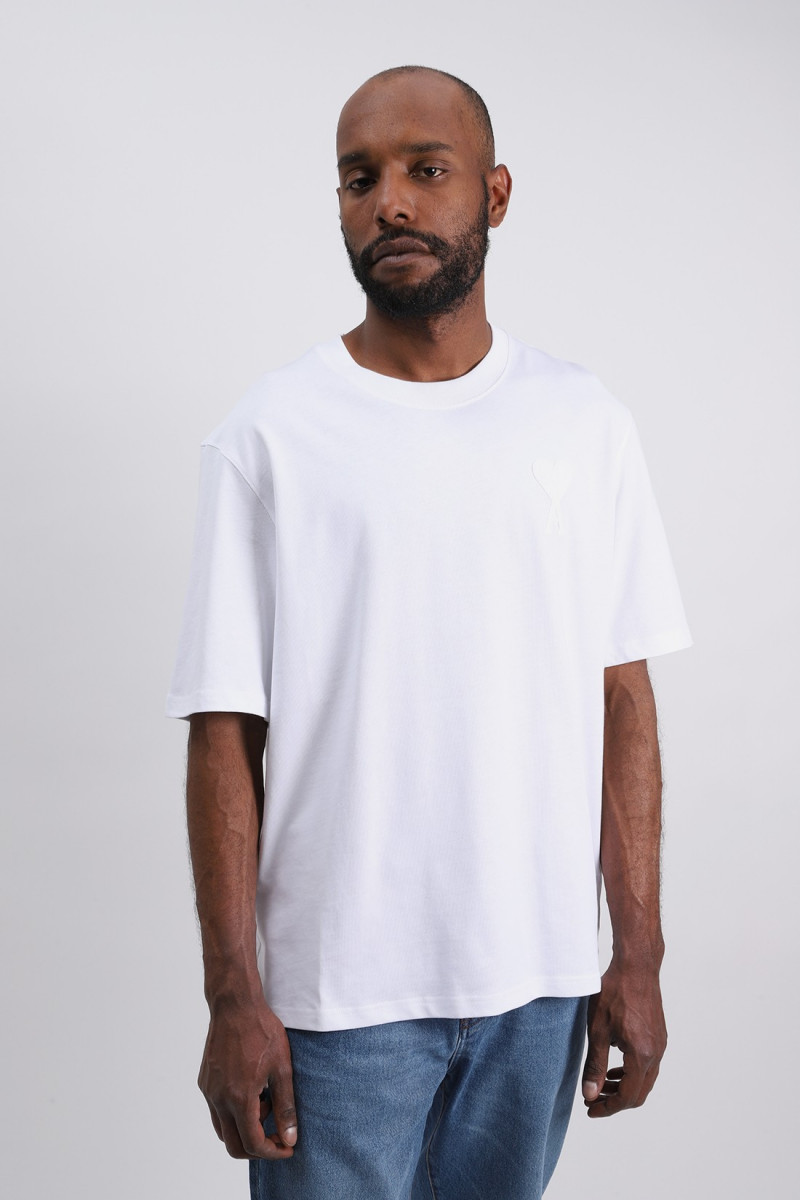 T-shirt ami de coeur Blanc