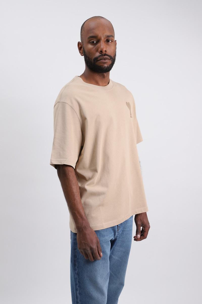 T-shirt ami de coeur Beige