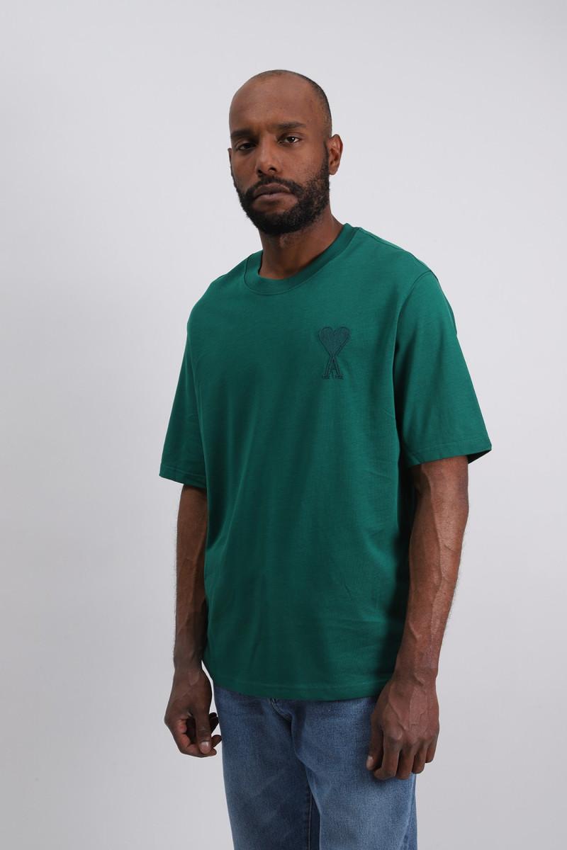T-shirt ami de coeur Vert