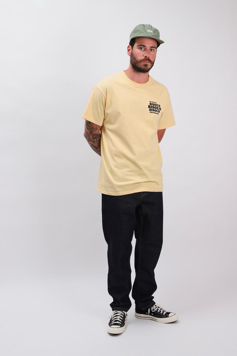 T shirt grease Sun/black
