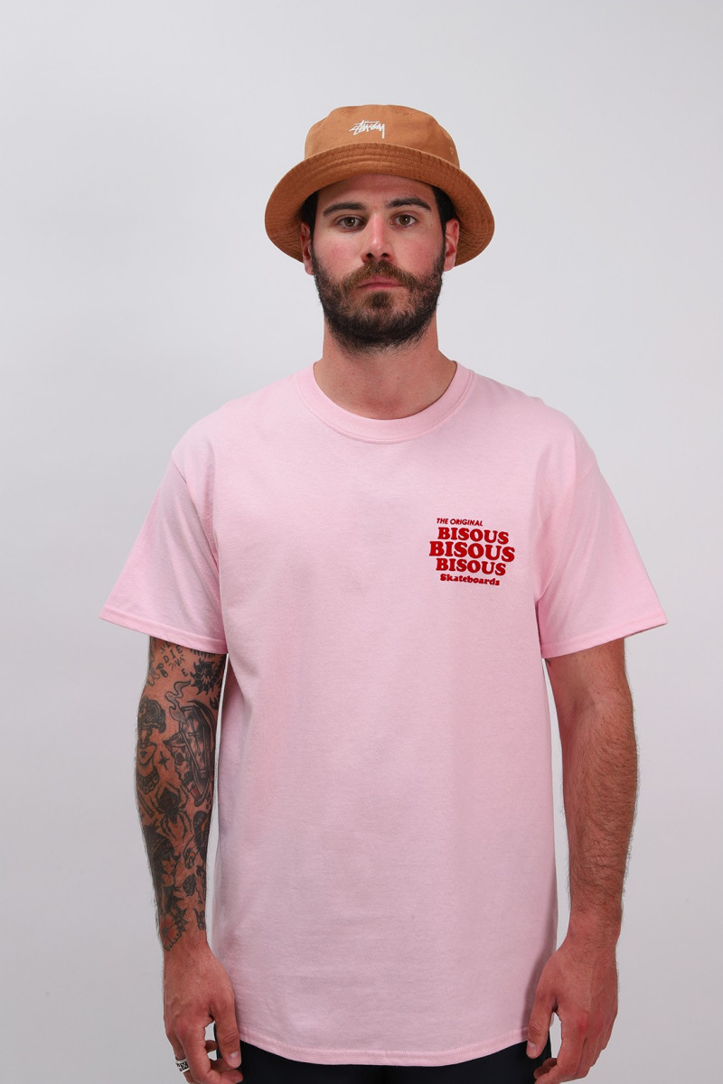 T shirt grease Pink/red
