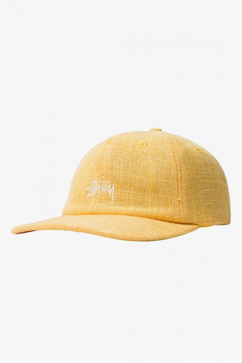 Loose weave stock strapback Yellow