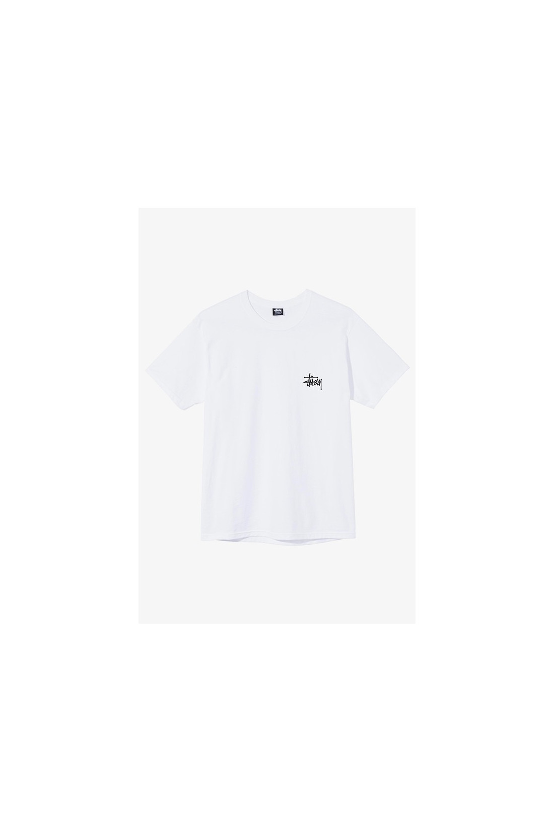 STUSSY / Basic stussy tee White