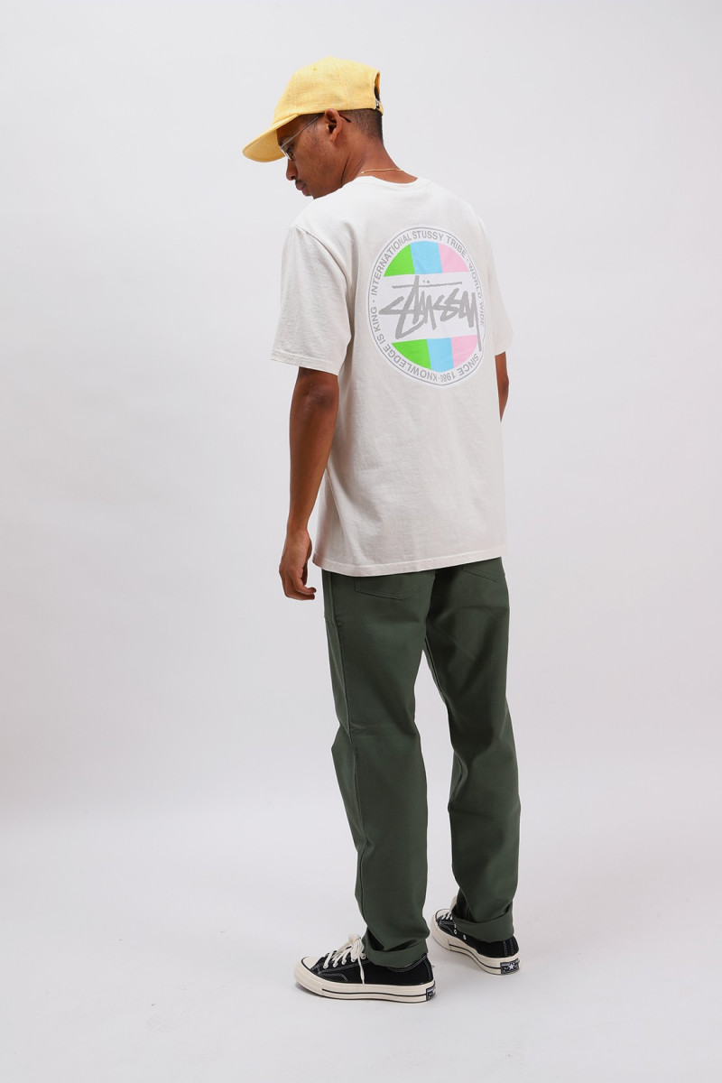Classic dot pig. dyed tee Natural