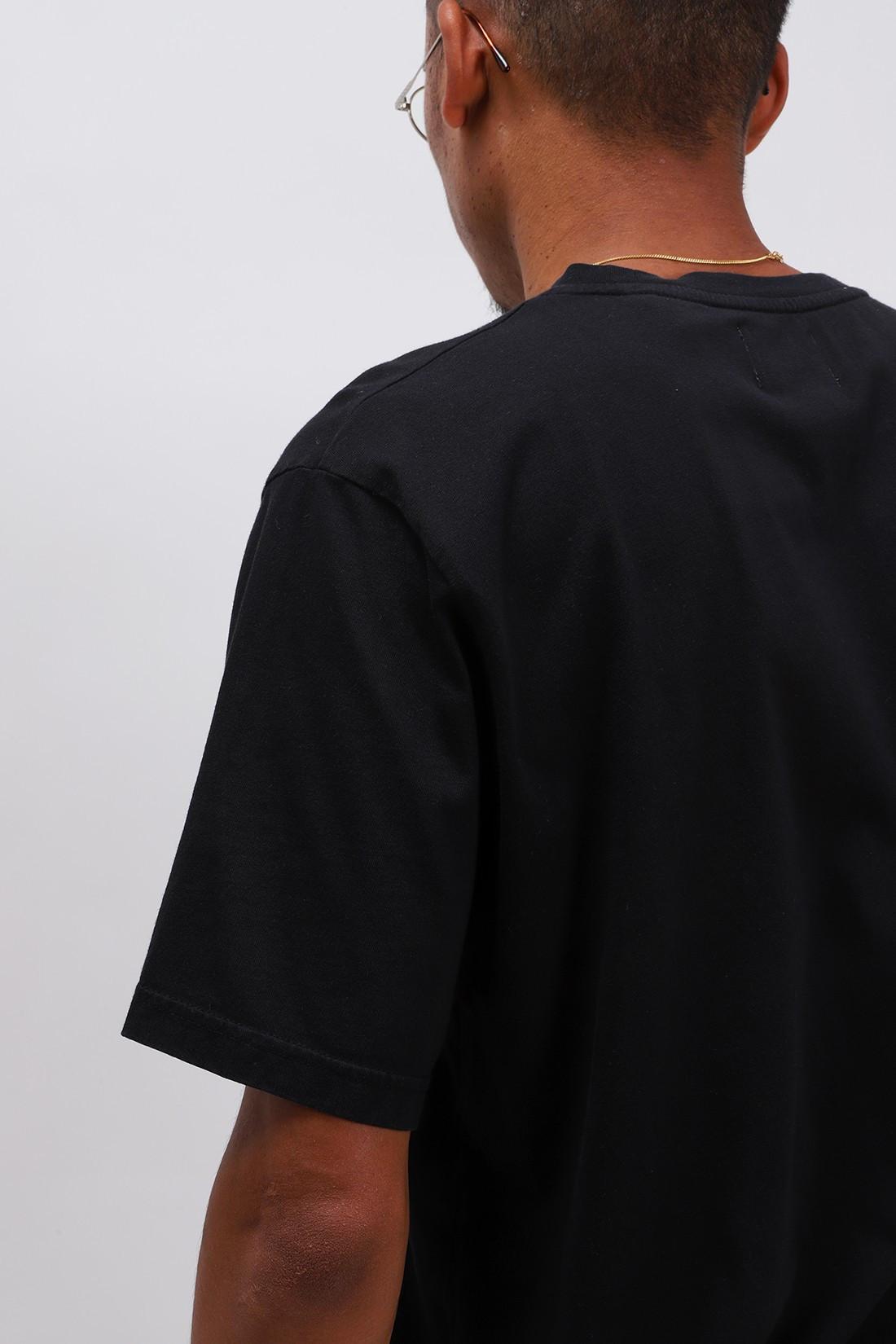 COLORFUL STANDARD / Classic organic tee Deep black