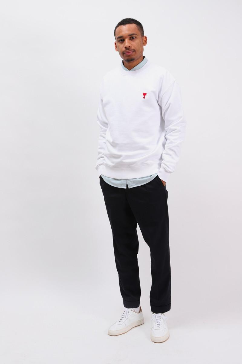 Sweatshirt ami de coeur Blanc