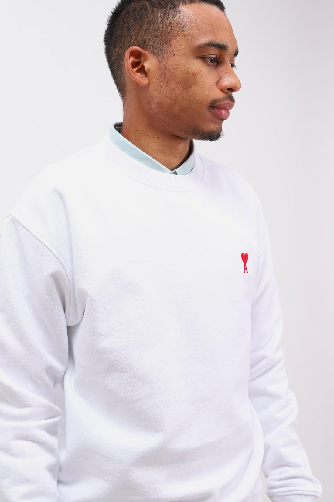 AMI / Sweatshirt ami de coeur Blanc