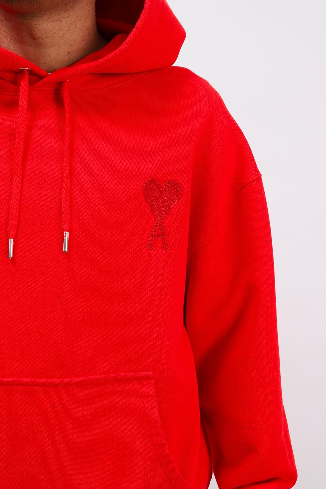 AMI / Hoodie ami de coeur Rouge