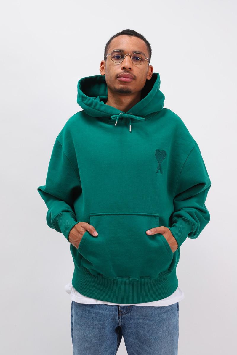 Hoodie ami de coeur Vert