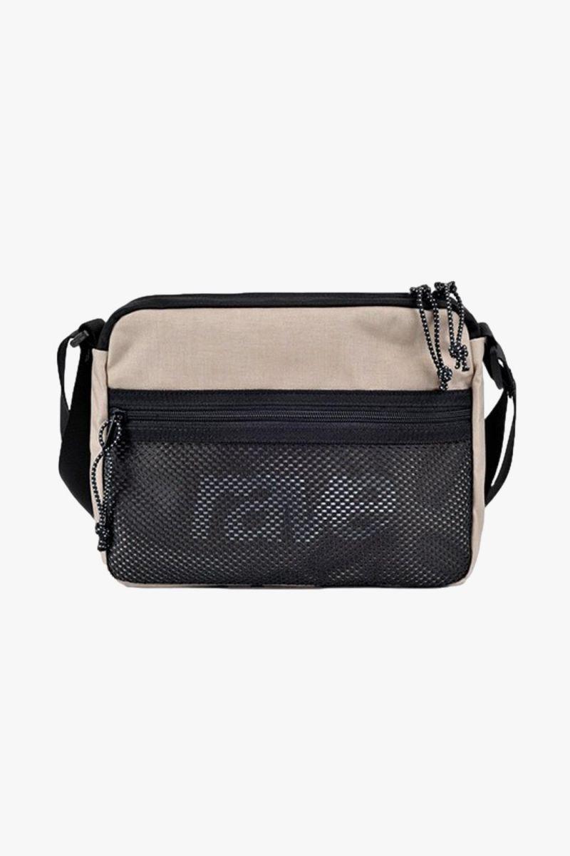 Shoulder bag Sand/black