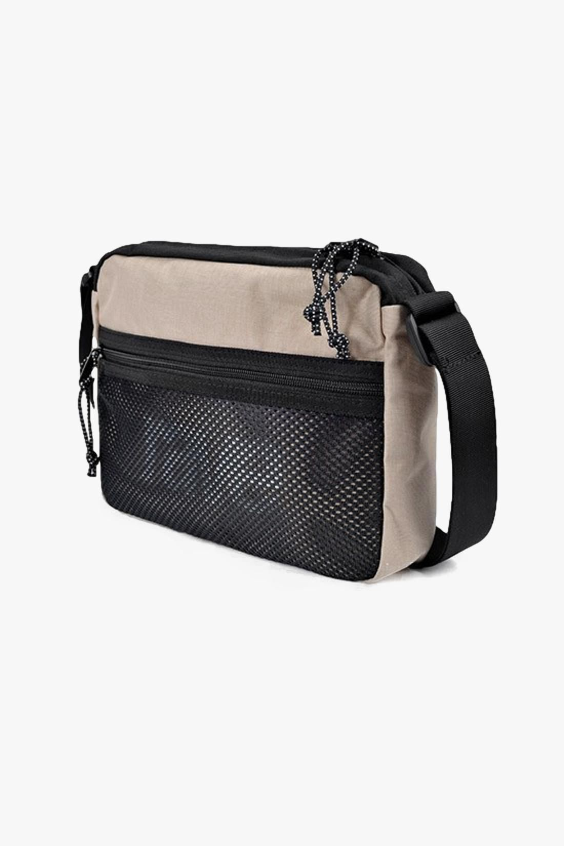 RAVE / Shoulder bag Sand/black