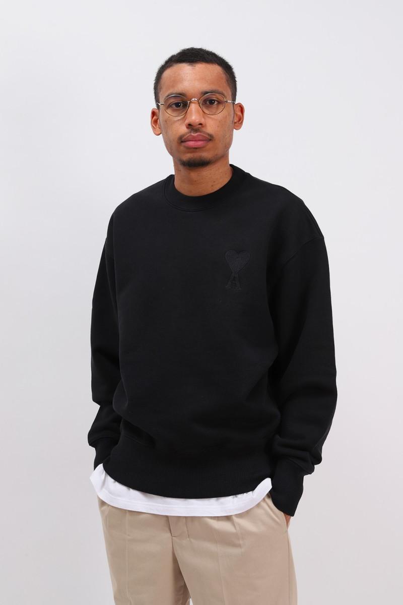 Sweatshirt ami de coeur Noir