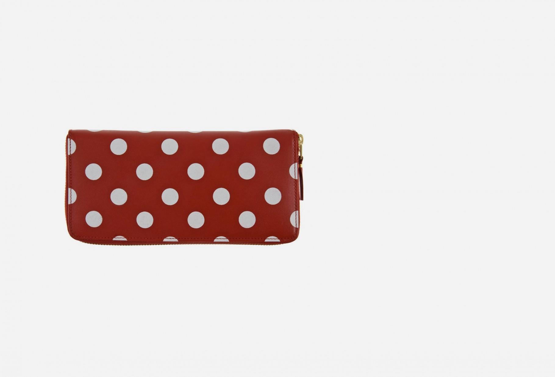 COMME DES GARÇONS WALLETS / Cdg polka dots sa0110pd Red