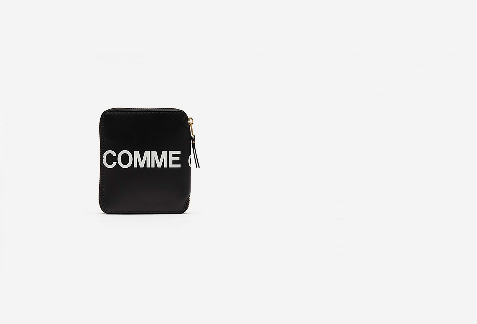 COMME DES GARÇONS WALLETS / Cdg huge logo wallet sa2100hl Black