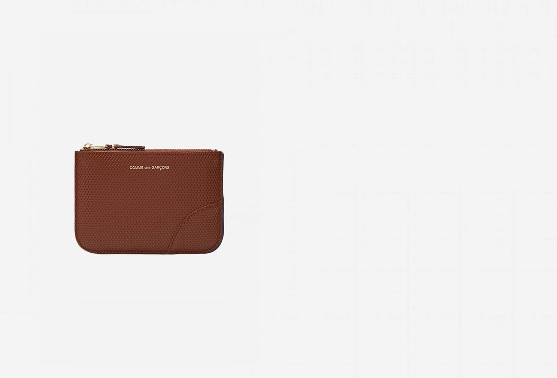 COMME DES GARÇONS WALLETS / Cdg luxury group sa8100g Brown