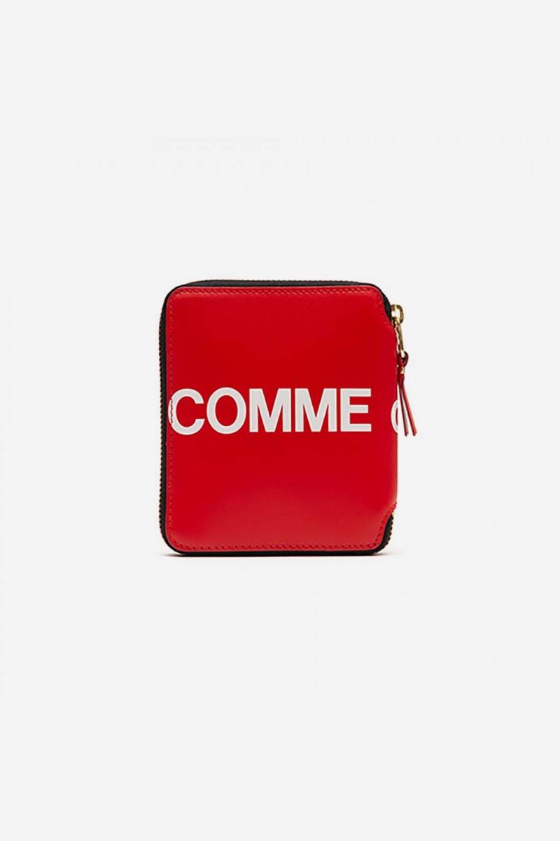 Cdg huge logo wallet sa2100hl Red