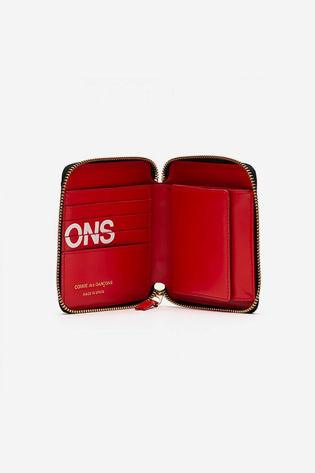 COMME DES GARÇONS WALLETS / Cdg huge logo wallet sa2100hl Red